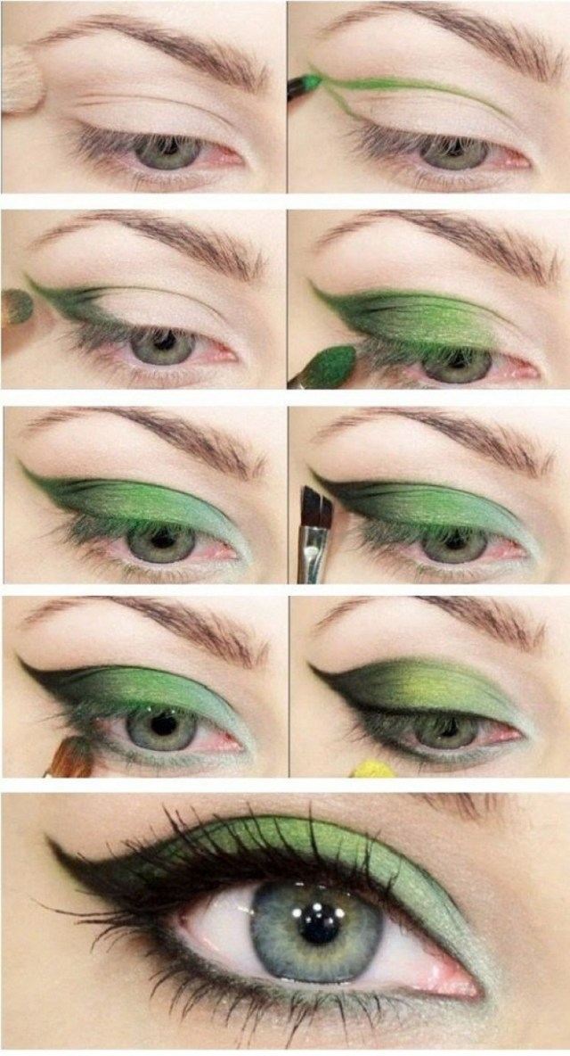Makeup Tutorials For Green Eyes How To Rock Makeup For Green Eyes Makeup Ideas Tutorials Pretty