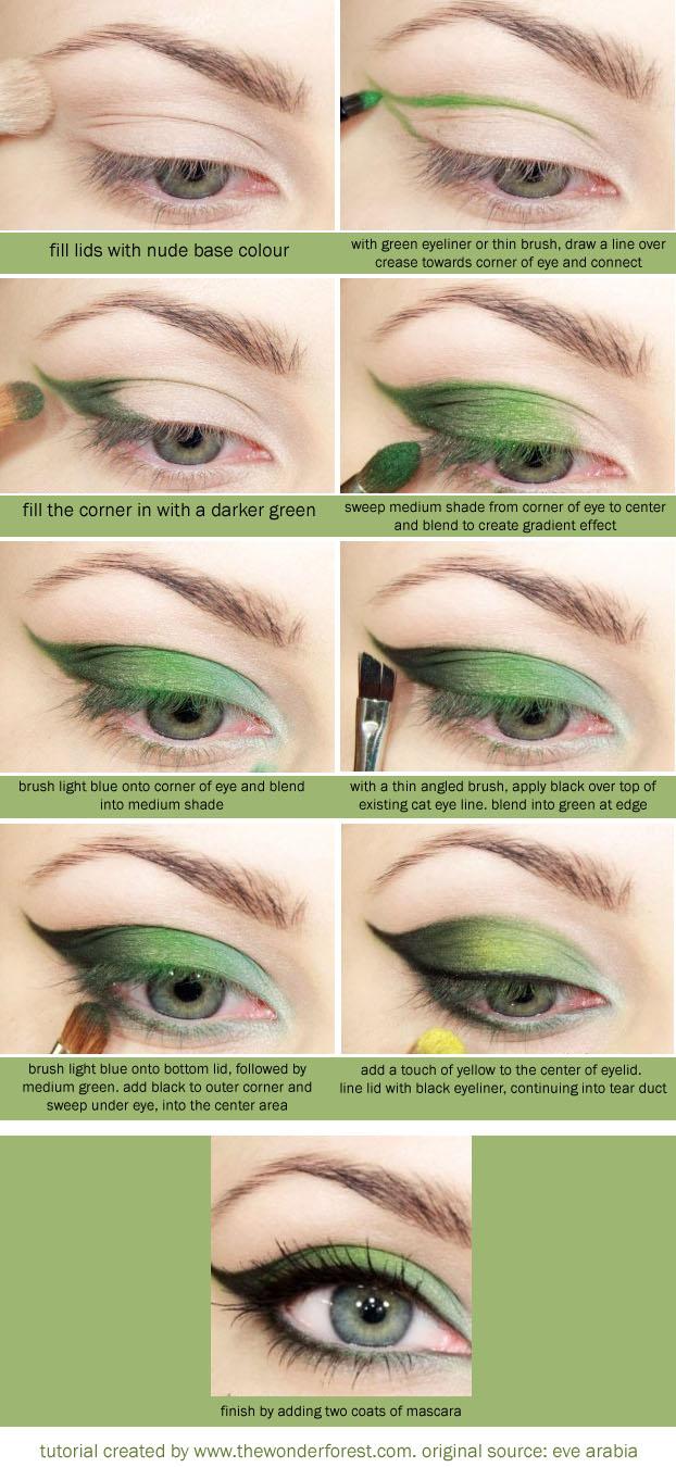 Makeup Tutorials For Green Eyes Perfect Makeup Tutorial For Green Eyes Georgette Musely