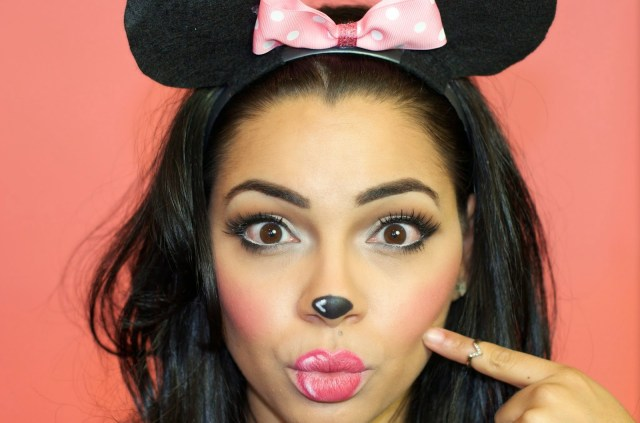 Minnie Mouse Eye Makeup Halloween Makeup Minnie Mouse The Style Brunch