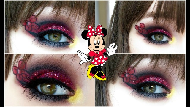 Minnie Mouse Eye Makeup Minnie Mouse Makeup Tutorial Youtube