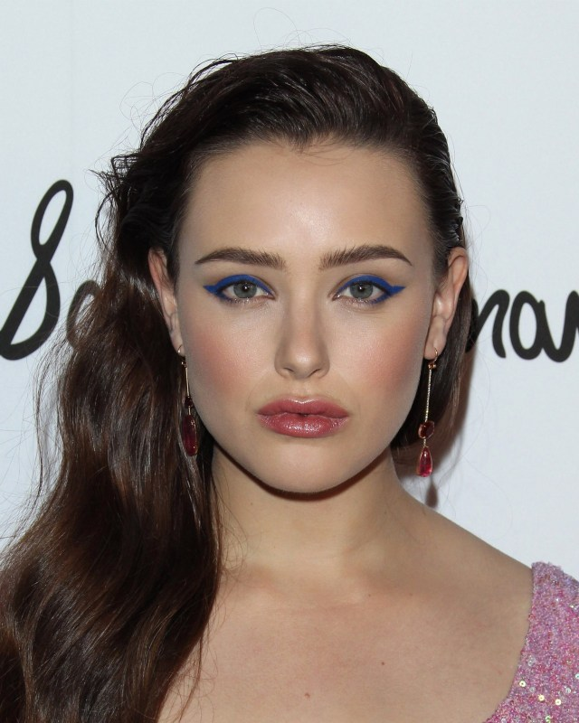 Modern Cat Eye Makeup Celebrity Makeup Looks Blue Cat Eyes Ombr Lips And More The