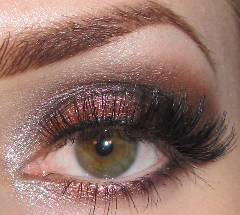 Monarch Butterfly Eye Makeup Glitter Is My Crack Dramatic Dark Copper Eye Makeup Look With