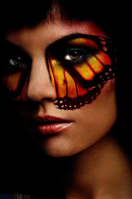 Monarch Butterfly Eye Makeup Monarch Butterfly Eye Makeup