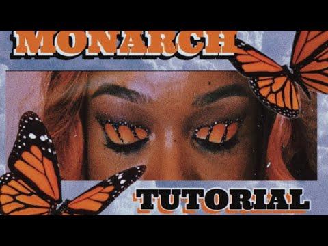 Monarch Butterfly Eye Makeup Monarch Butterfly Eyeshadow Tutorial Editorial Makeup Drugstore