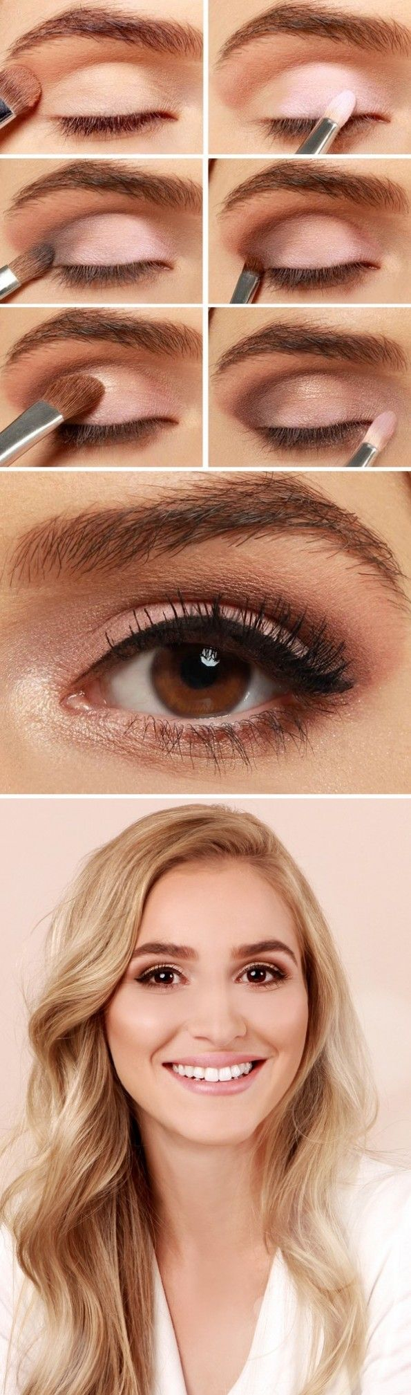 Natural Makeup For Brown Eyes 27 Pretty Makeup Tutorials For Brown Eyes Styles Weekly