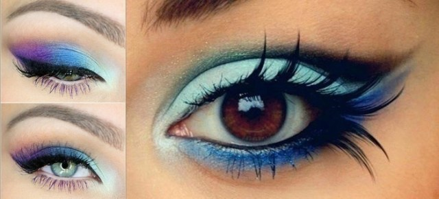 Peacock Inspired Eye Makeup Types Of Indian Bridal Eye Makeup Blog