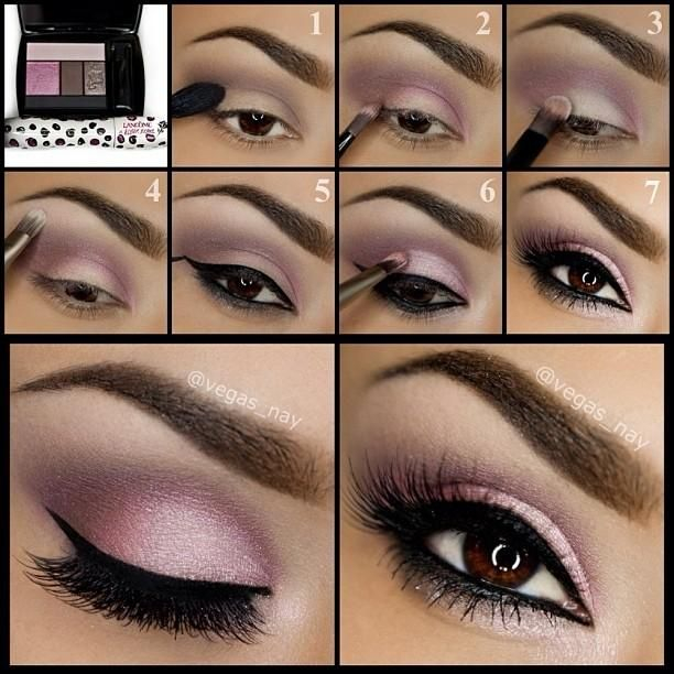 Pink Makeup For Brown Eyes 27 Pretty Makeup Tutorials For Brown Eyes Styles Weekly