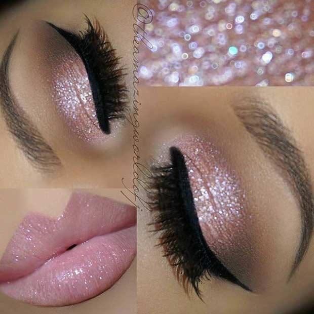 Pink Makeup For Brown Eyes 31 Beautiful Wedding Makeup Looks For Brides Stayglam Page 2