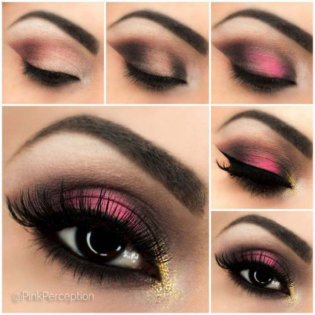 Pink Makeup For Brown Eyes 38 Makeup Ideas For Prom The Goddess