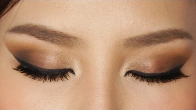 Pretty Light Eye Makeup Easy Brown Smokey Eye Makeup Tutorial