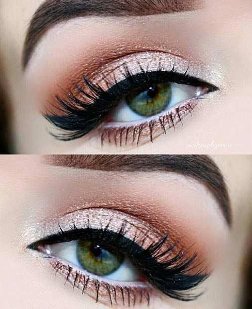 Prom Makeup Green Eyes Prom Makeup 31 Pretty Eye Makeup Looks For Green Eyes 27