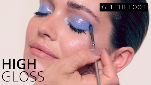 Shiny Eye Makeup Glossy Eye Makeup Tutorial Get The Look Feelunique Youtube