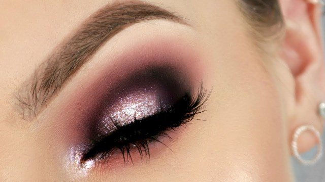Shiny Eye Makeup Hooded Eyes Makeup Colour Glitter Stephanie Lange Youtube