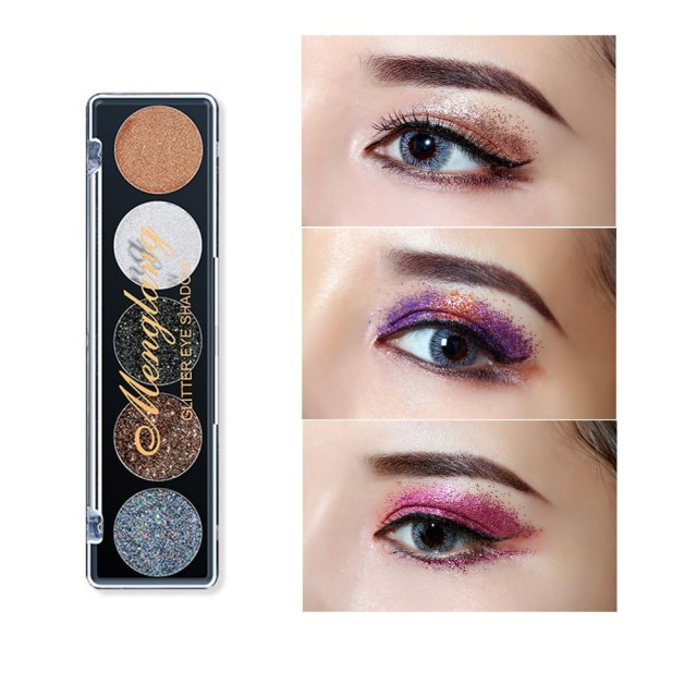 Shiny Eye Makeup Shiny Eye Shadow Shimmer Powder Palette Cosmetic Makeup Beauty Best