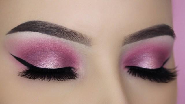 Simple Pink Eye Makeup Pink Halo Eye Makeup Tutorial Youtube