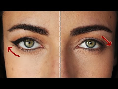 Sleepy Eyes Makeup How To The Perfect Eyeliner For Downturned Eyes Makeupandartfreak