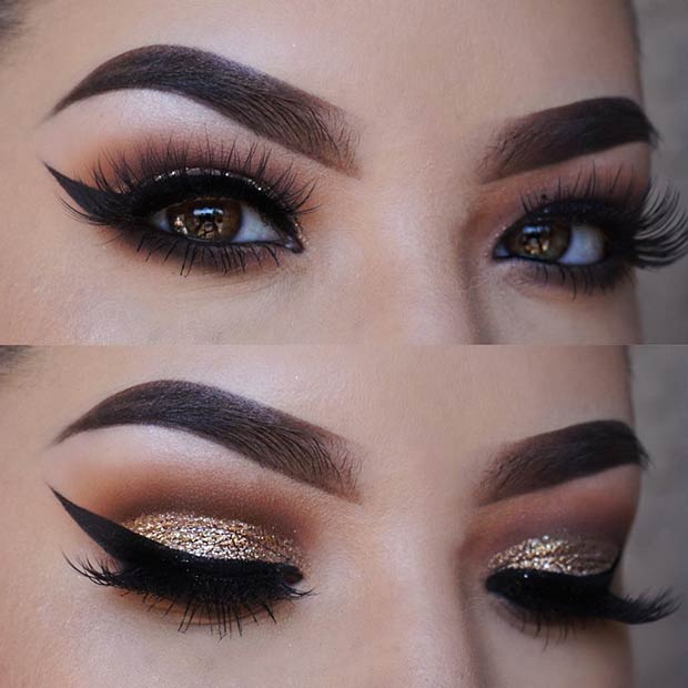 Smokey Eye Makeup Brown 41 Gorgeous Makeup Ideas For Brown Eyes Stayglam