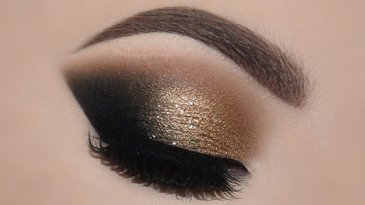Smokey Eye Makeup Pictures Gold Glam Cat Smokey Eyes Perfect Skin Makeup Tutorial