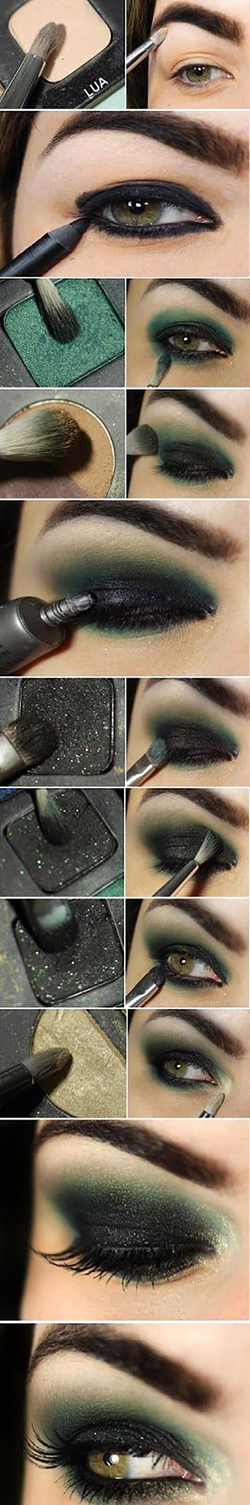 Smokey Eye Makeup Pictures How To Do Smokey Eye Makeup Top 10 Tutorial Pictures For 2019