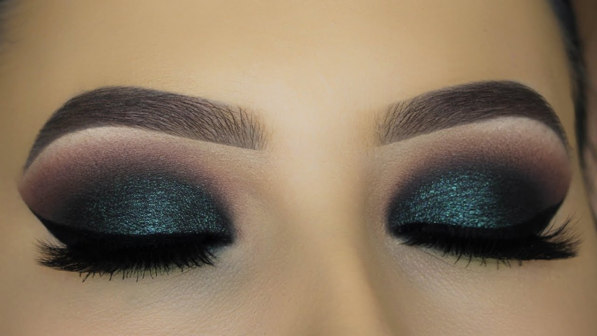 Smokey Eye Makeup Pictures Intense Green Smokey Eyes Makeup Tutorial Youtube