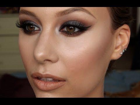 Smokey Eye Prom Makeup Prom Makeup Classic Smokey Eye W Dewy Skin Youtube