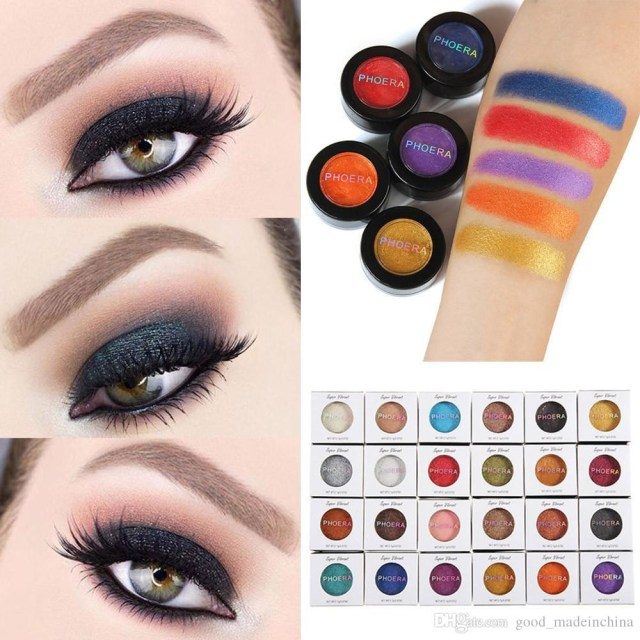 Soft Eye Makeup Hot Fashion Makeup Eye Shadow Soft Glitter Shimmering Colors