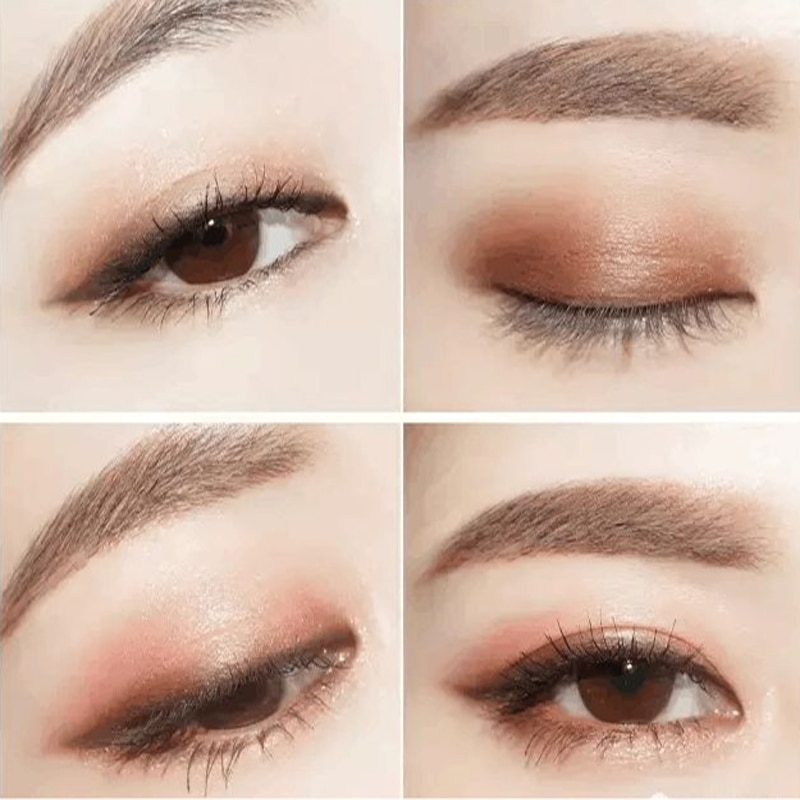 Very Natural Eye Makeup Double Color Lazy Eyeshadow Gradual Change Makeup Brush Professional