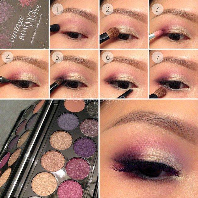 White And Pink Eye Makeup 18 Summer Makeup Tutorials To Make You Feel Beautiful Girls Hair Ideas