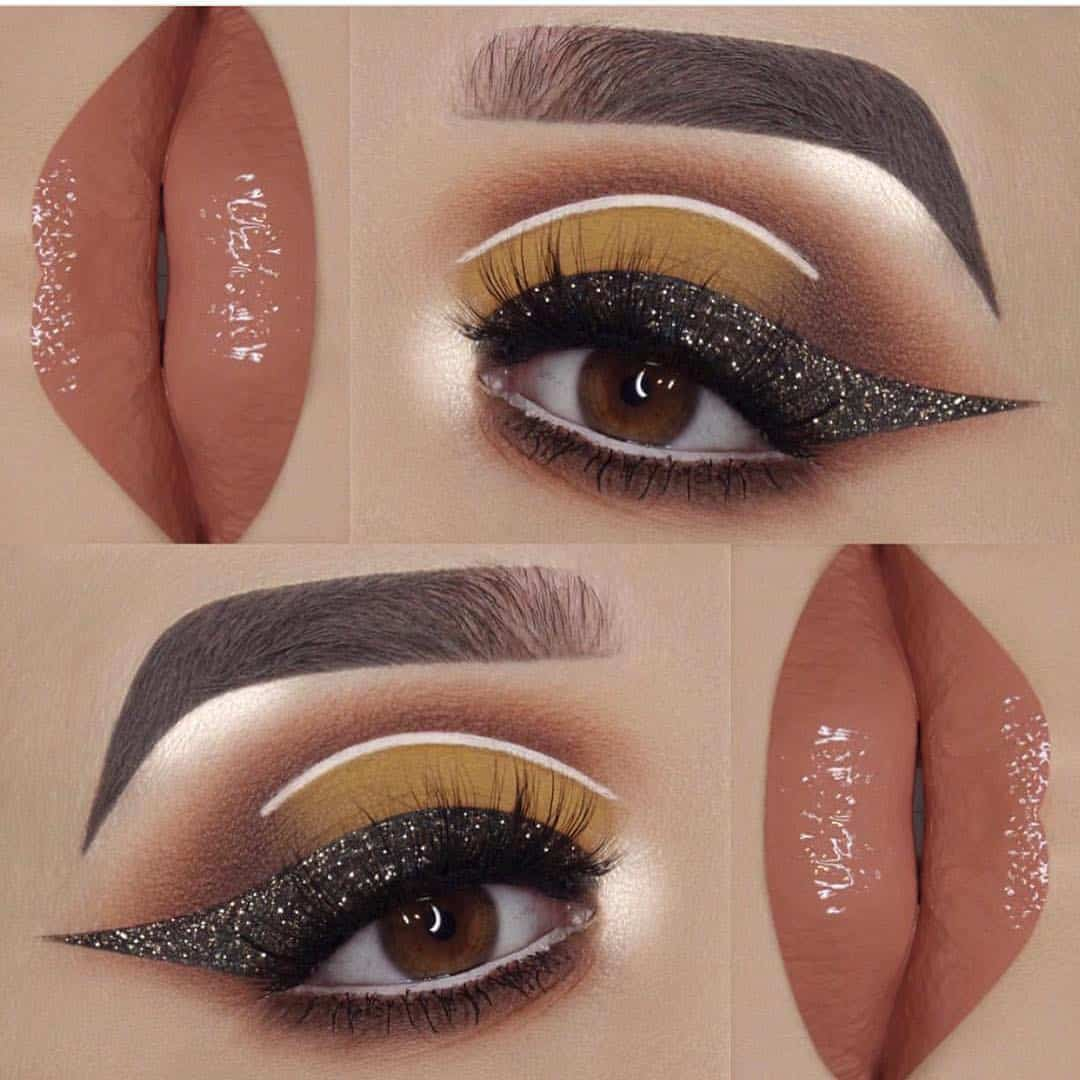 Yellow And Black Eye Makeup 26 Cut Crease Makeup To Make Your Eyes Really Pop Ritely