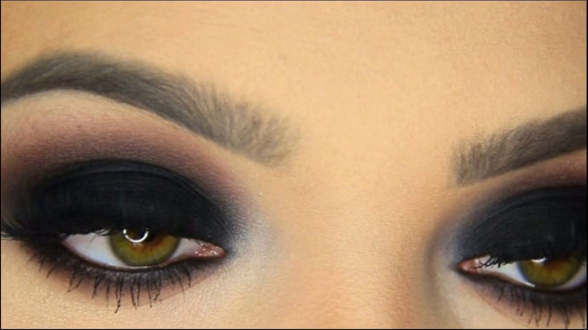 Yellow And Black Eye Makeup Classic Black Smokey Eye Makeup For Hazel Eyes Pop How To Make At