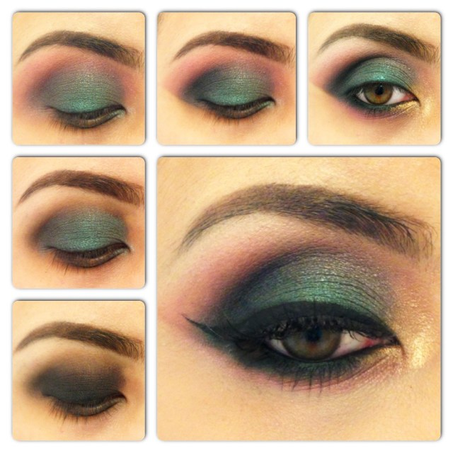 Yellow And Black Eye Makeup How To Do A Smokey Eye Makeup For Green Eyes Stylewile