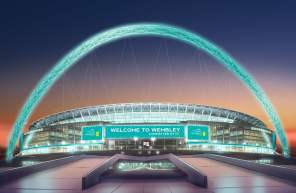Wembley Connected By EE - Front