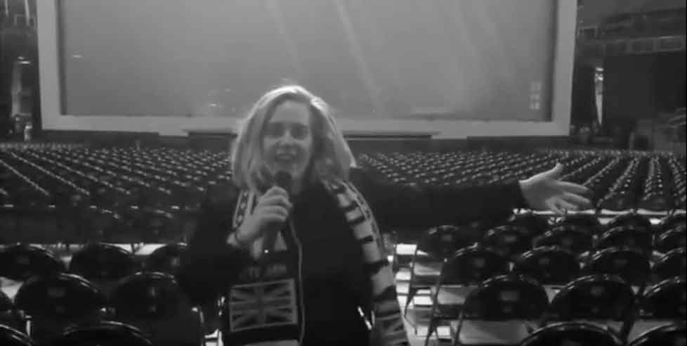 Adele announces Wembley tour in 2017