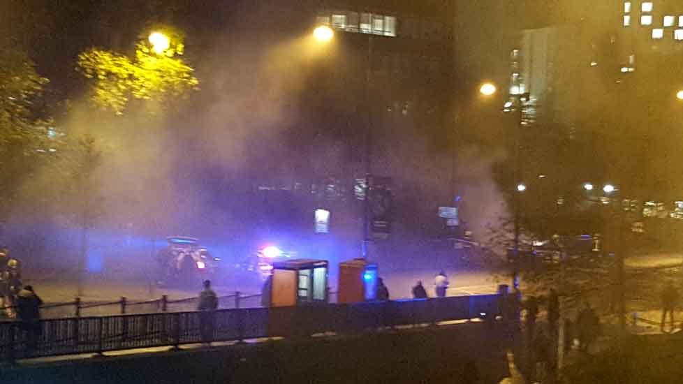Car-fire-Wembley-Park-tube-2