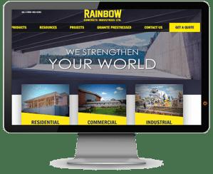 rainbow concrete