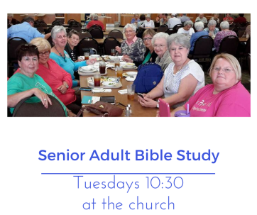 Senior Adult Bible Study