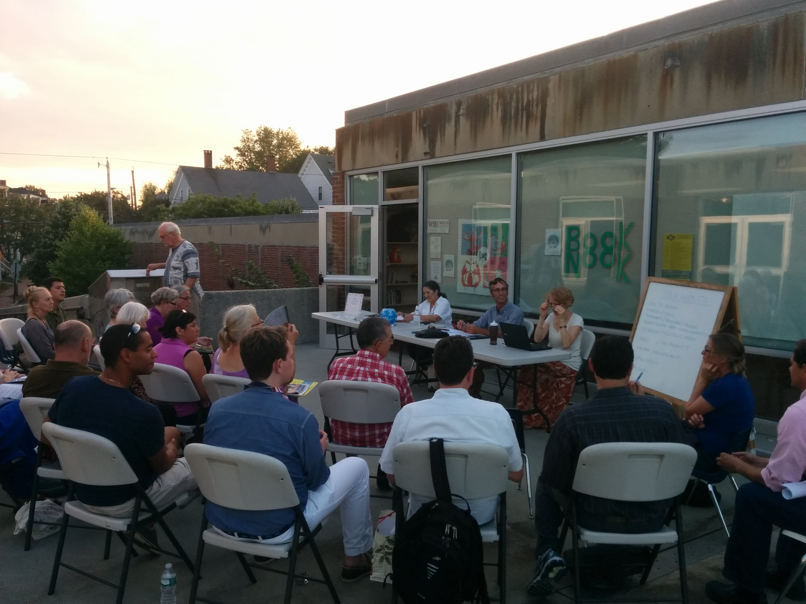 September Outdoor Meeting.