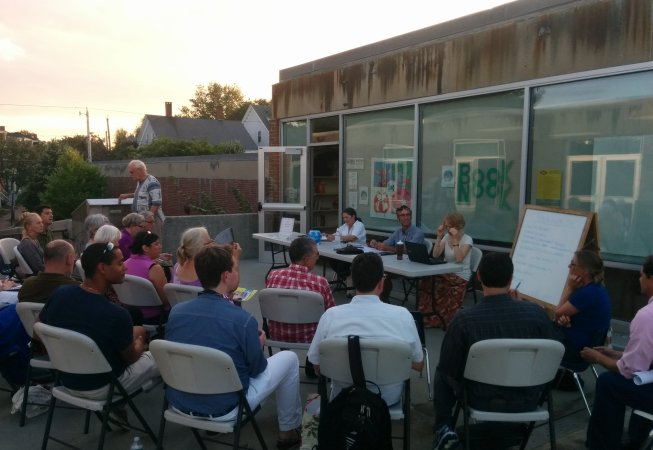 September Outdoor Meeting.