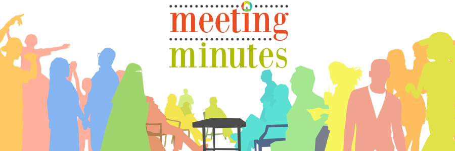 Meeting Minutes – Sep. 2016