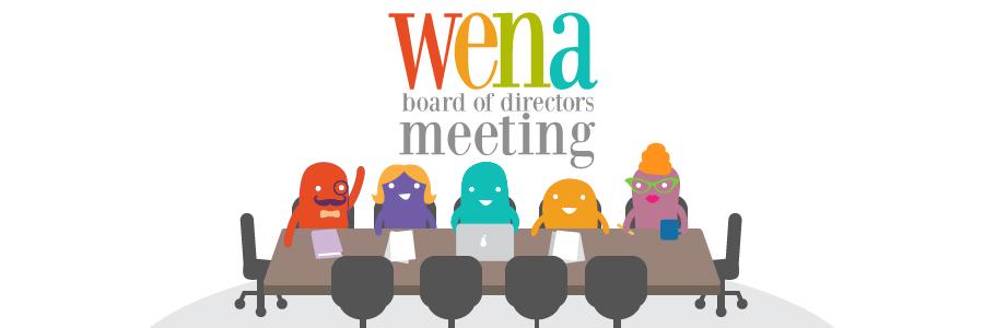 WENA Board of Directors Special Meeting – Dec. 23