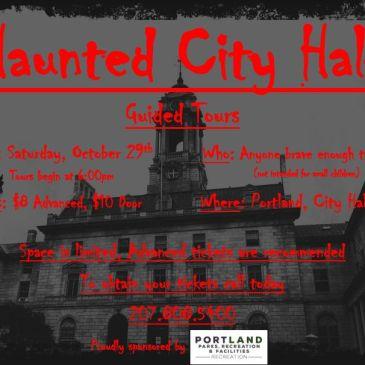 Haunted City Hall – Mark Your Calendar & Volunteers Needed