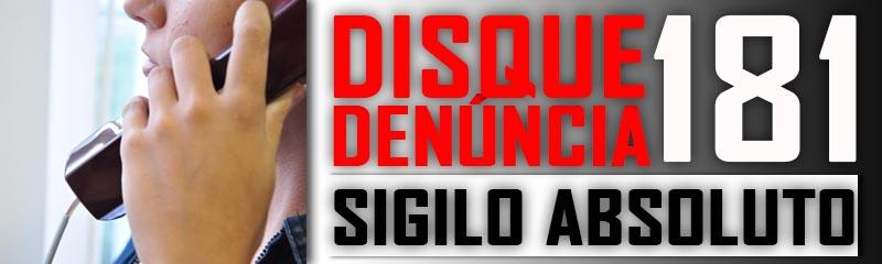 Com média de 500 denúncias por mês, Disque 181 é importante ferramenta de combate ao crime