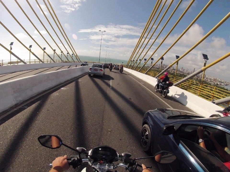 Ponte Newton Navarro ganhará contra-fluxo para dar velocidade ao transporte público