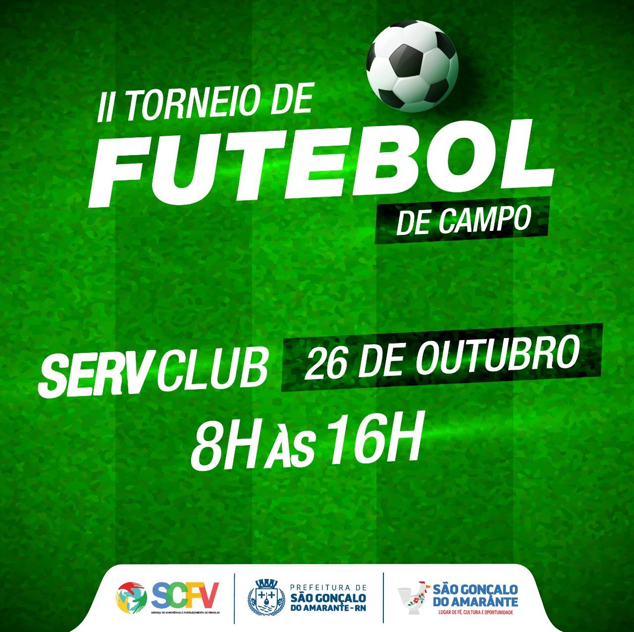 Serviço de Convivência promove II Torneio de Futebol de Campo na próxima semana