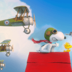 snoopy-flying