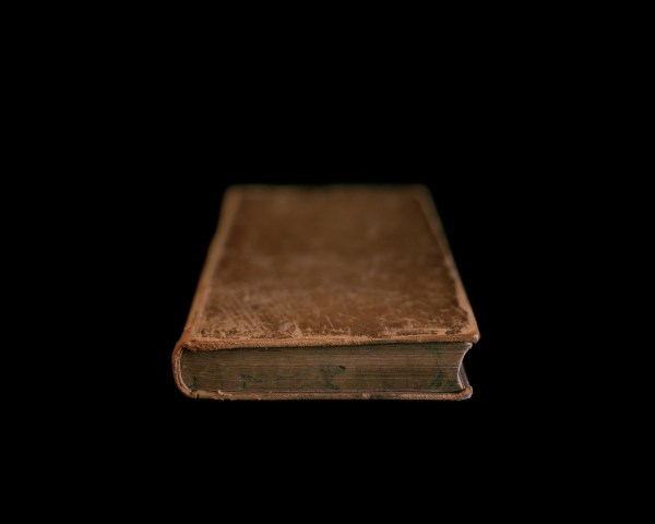 First Book Purchased After Slavery, Frederick Douglass, Rush Rhees Library, University of Rochester, NY