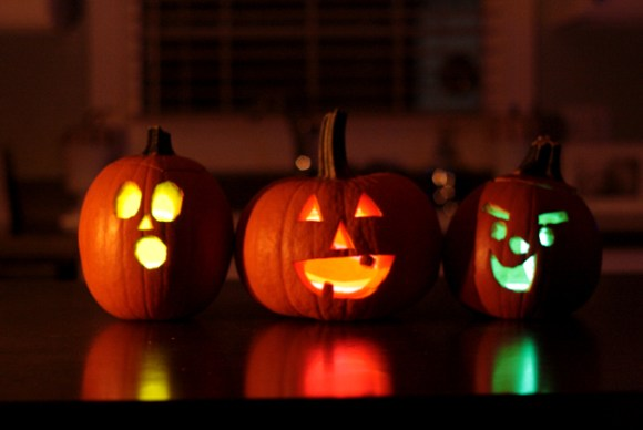 Pumpkin Ideas Glow In The Dark Pumpkins