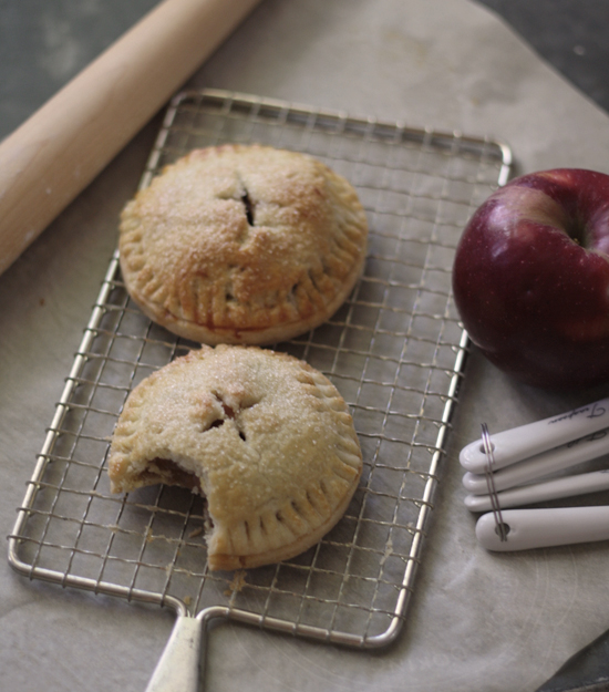 carmel apple hand pies