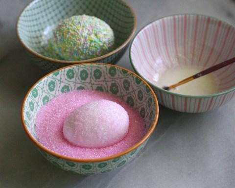 Sprinkle Easter Eggs