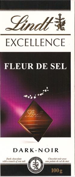 Lindt Fleur De Sel chocolate